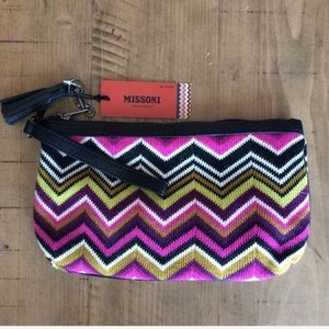 Missoni for Target knit zig zag chevron clutch
